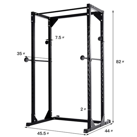 Strength Training Adjustable Rack