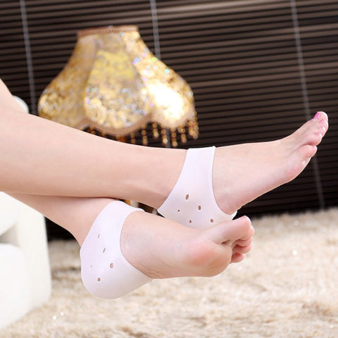 Silicone Gel Heel & Ankle Sleeve (1 Pair)