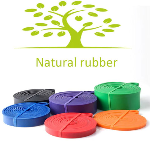 natural rubber latex resistance bands