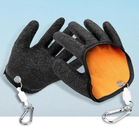 Fisherman Glove With Magnet Release