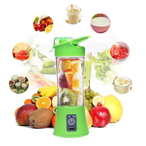 PORTABLE USB BLENDER (500ML - 2 BLADES)