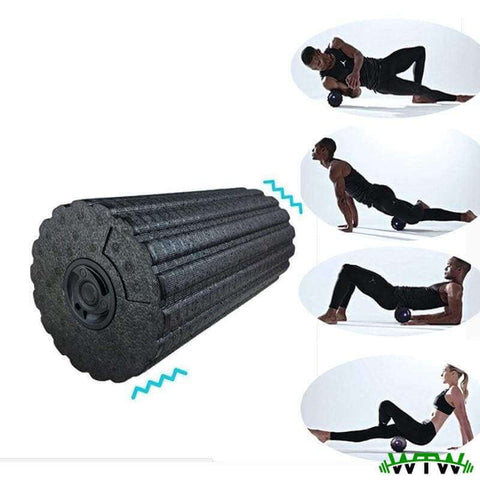 Welcome To Well - Fitness & Outdoor Equipment foam roller 4-Speed Electric Vibrating Foam Roller