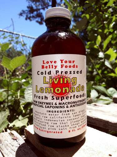 Living Lemonade *Cold Pressed Fresh Superfoods!*