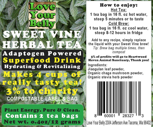 Sweet Vine Herbal Tea 0.4oz. (Free US Shipping)