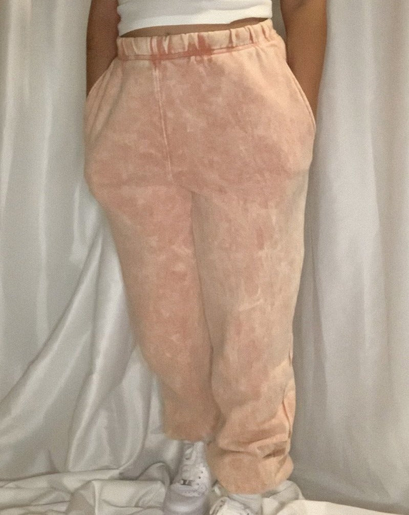 Peach Sweatpants