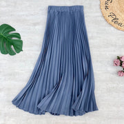 Spring Summer Women Midi Skirts