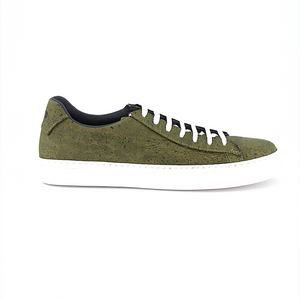 Green Cork Sneakers