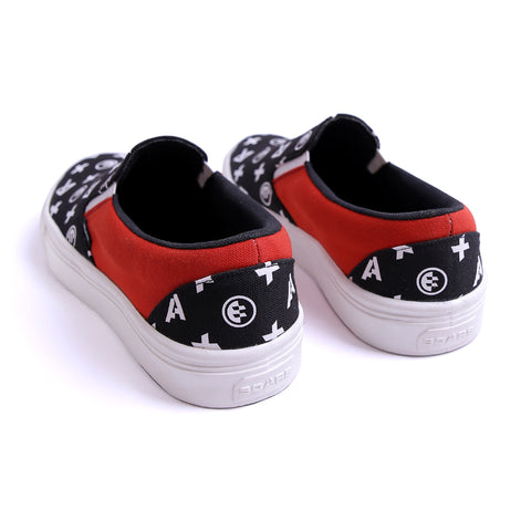 Scars Monogram Slip On