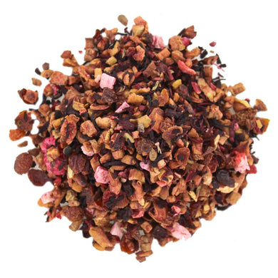 Loose leaf fruity tea