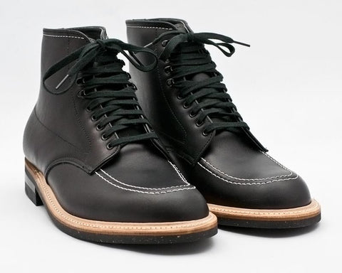 Alden Indy Boot (401) in black Horween Leather
