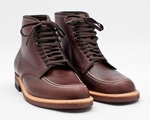 Alden Indy Boot (403) in brown Horween Chromexcel Leather