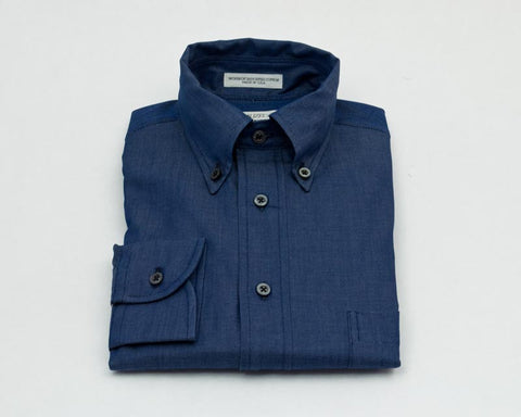 Individualized Shirts Button Down (Navy Twill)