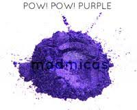 pow! pow! purple mica