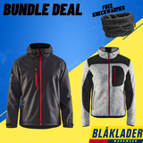 Northern Boots Bundle Deal - Blaklader PRO Jacket & Knitted Zip-Up Jacket