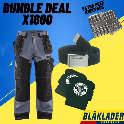 BLAKLADER BUNDLE DEAL - BLAKLADER X1600 Work Pants