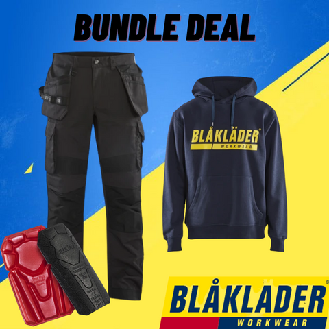 Northern Boots Bundle Deal - Blaklader Rip Stop Pants & Logo Hoodie
