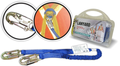 Workhorse Shock Absorbing Lanyard - 4FT
