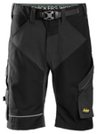 Snickers Workwear FlexiWork Shorts & Logo T-Shirt Bundle