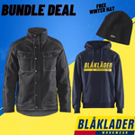 Northern Boots BUNDLE DEAL - Blaklader Pile Lined Jacket & Logo Hoodie