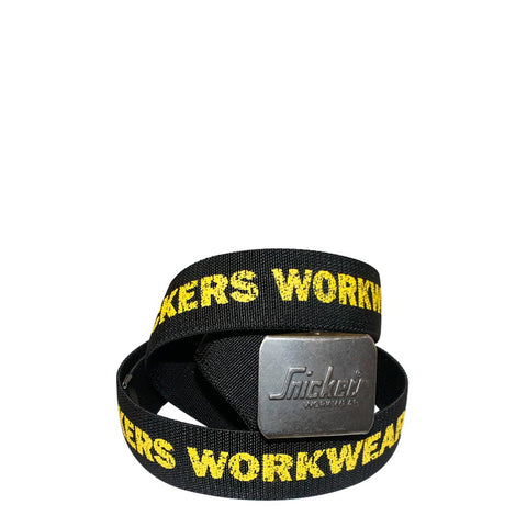 Snickers Workwear 9005 Printed Logo Belt