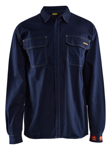 Blaklader FR Long Sleeve Work Shirt - Flame Resistant Work Wear