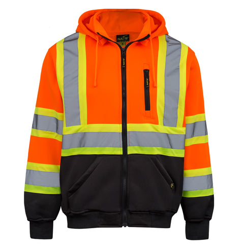 NAT'S Work Wear - High Visibility Hoodie