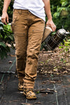 Dovetail Workwear - Maven X Work Pants Saddle Brown Canvas