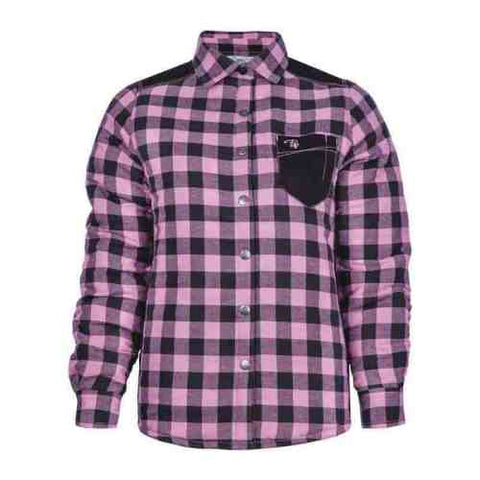 P&F Women's Padded Plaid Shirt