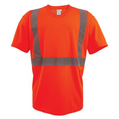 Coolworks Workwear Hi-Vis Short Sleeve T-Shirt *BUNDLE OF 4*