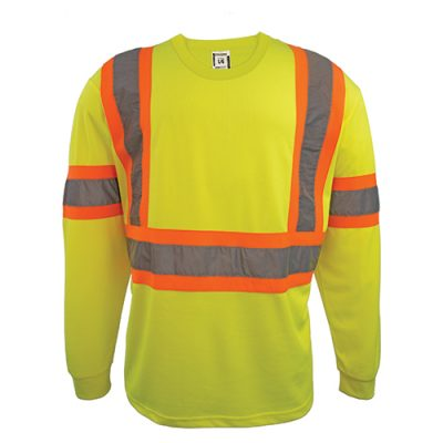 Coolworks Workwear Hi-Vis Long Sleeve T-Shirt *BUNDLE OF 2*