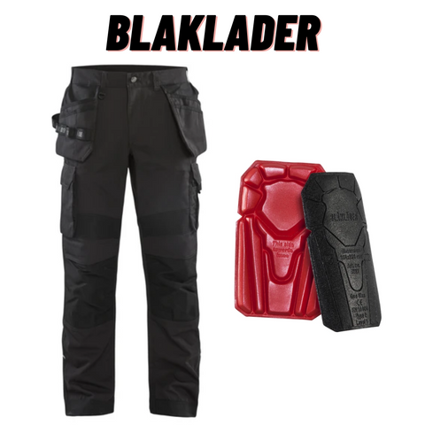 Blaklader Rip-Stop Pants With Utility Pockets & Kneepads