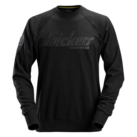 Snickers Workwear 2882 Logo Sweatshirt Crewneck