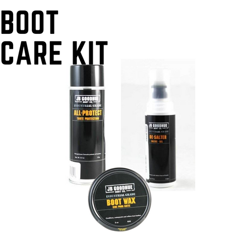 JB Goodhue Winter Work Boot Care Kit