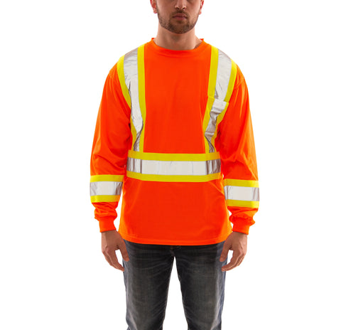 Tingley - Job Sight Long Sleeve Hi-Vis T-Shirt With Pocket * Bundle of 2*