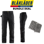 Blaklader Rip Stop Pants & Kneepads Bundle - Black