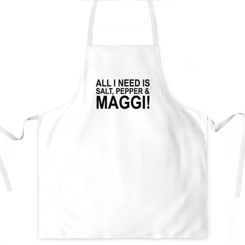 All I Need Is Maggi Apron