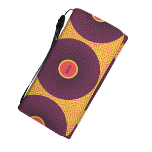 Simi Purple Dotted Women's Wallet