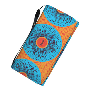 Simi Blue Dotted Women's Wallet