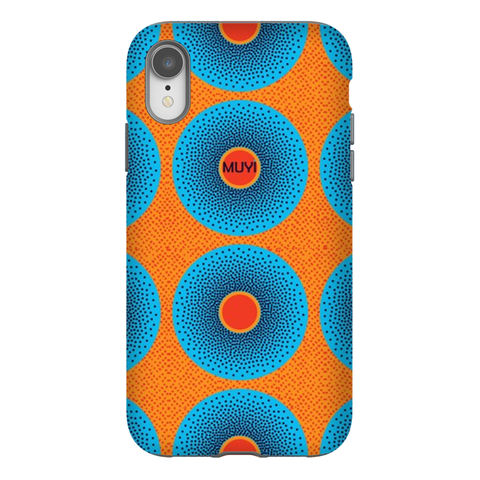 Simi Blue Tough Phone Case