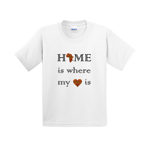 Home is Where my Heart is Kids T-shirt