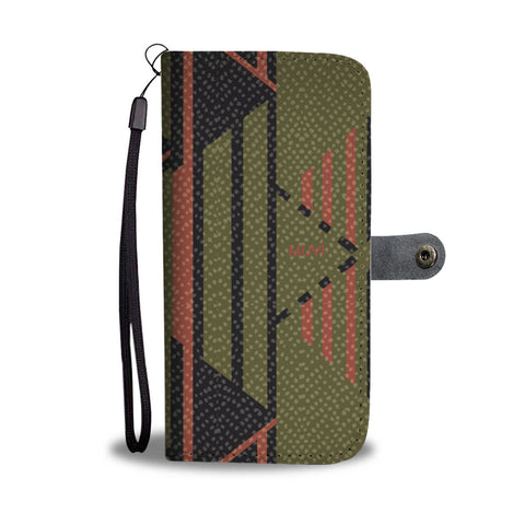 Aye Olive Wallet Case