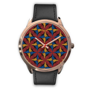 Jaiye Rose Gold Leather Watch