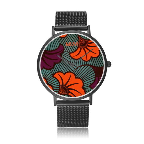 Ife Flower Steel Band Watch