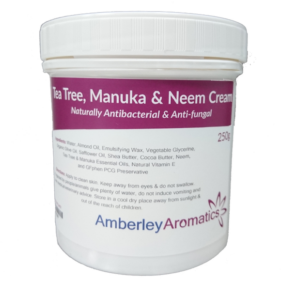 Tea Tree, Manuka & Neem Cream
