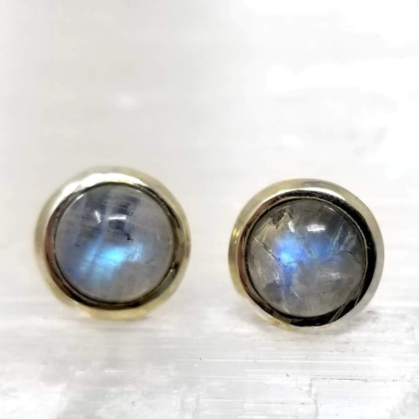 Moon Silver Stud ~ by Alula Boutik - alter8.com