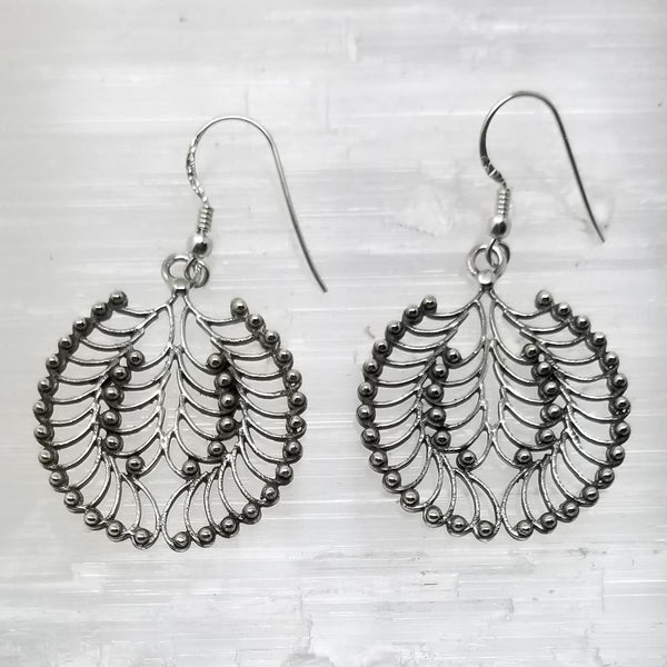 Vata Silver Earring ~ by Alula Boutik - alter8.com