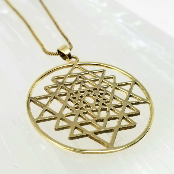 Sri Yantra ~ by Alula Boutik - alter8.com