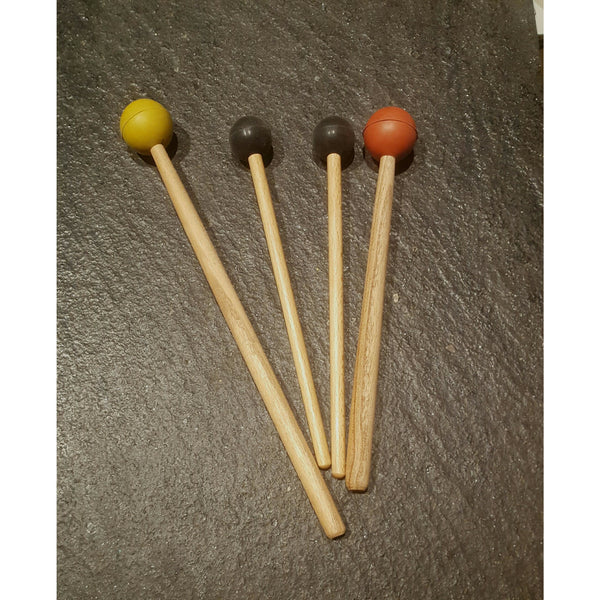Colored Rubber Mallet (Tuning Forks or Chakra drum)