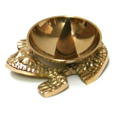 Brass Frog Burner - alter8.com