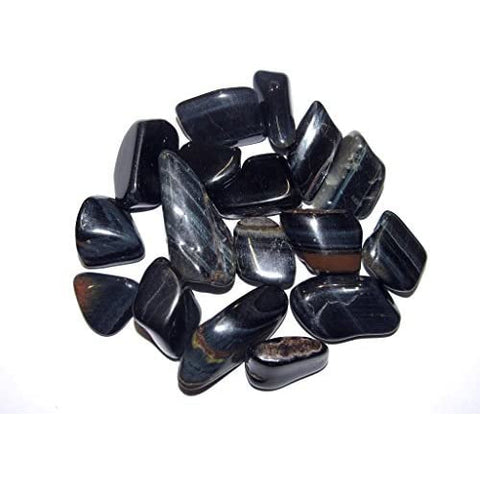 Tigers Eye (Blue/Hawks Eye) Tumbled - alter8.com